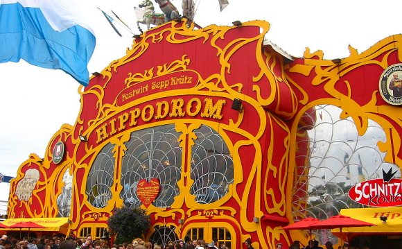The infamous Hippodrom tent at